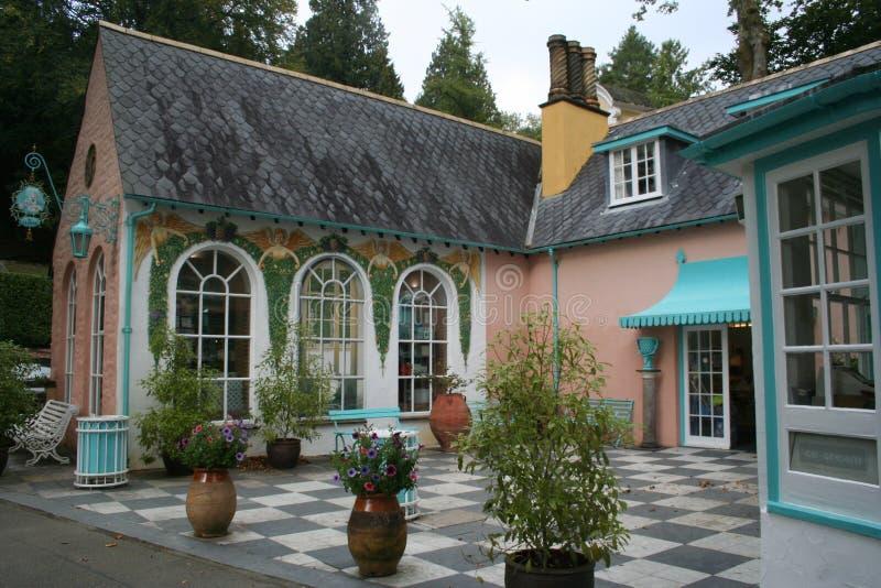 Hotel di Portmeirion, il villaggio, Galles del nord fotografia stock libera da diritti