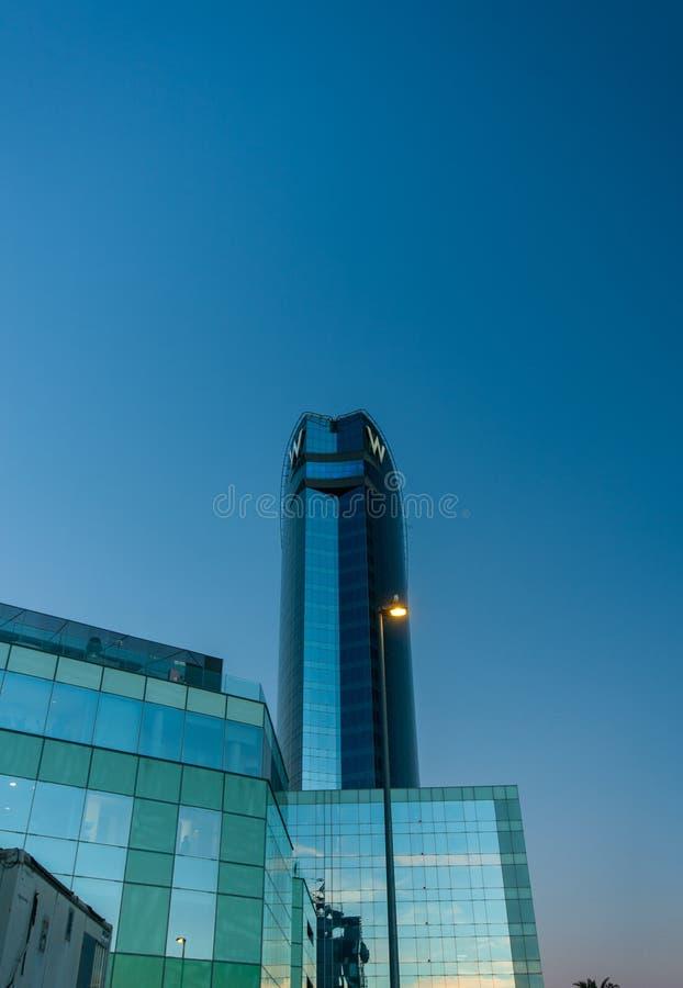 Hotel di W Barcellona immagine stock
