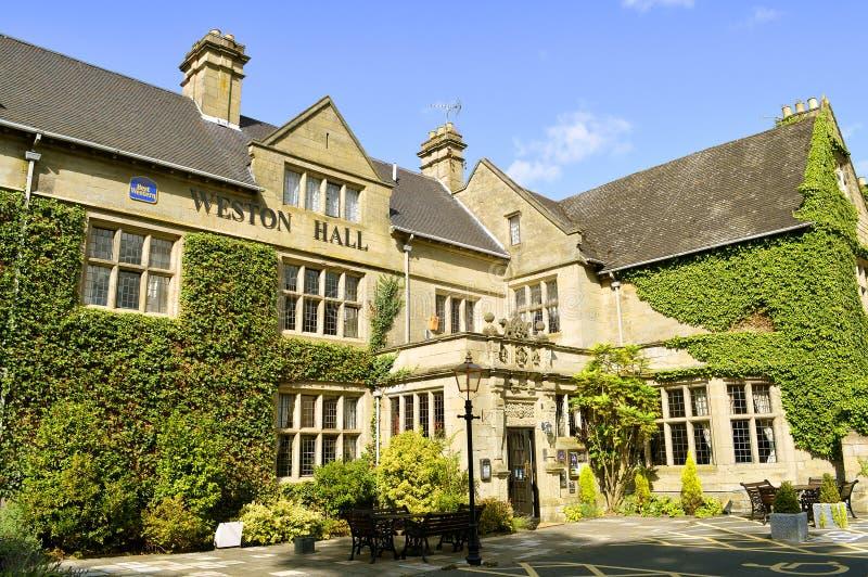 Hotel di Weston Hall in Warwickshire fotografia stock libera da diritti
