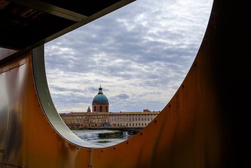 Hotel-Dieu Heilig-Jacques in Toulouse lizenzfreies stockfoto