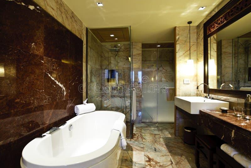 Hotel do banheiro fotos de stock royalty free