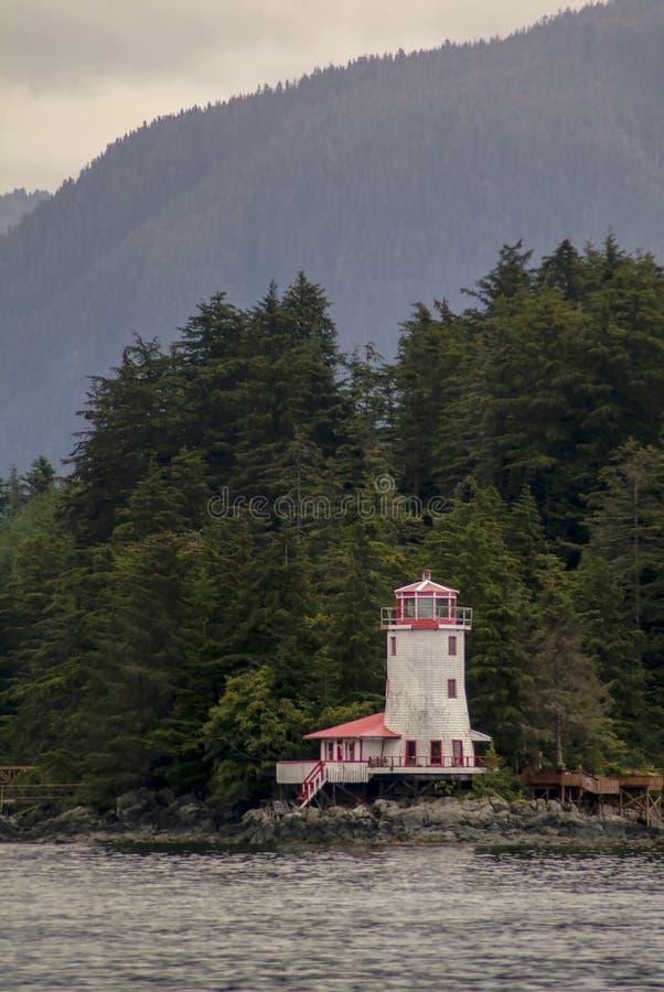 Hotel do farol de Rockwell, Sitka Alaska fotos de stock