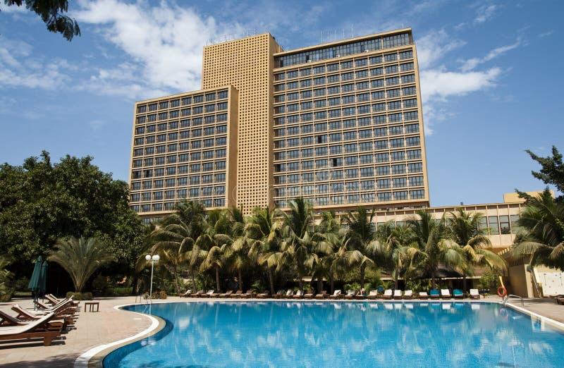 Hotel do l'Amitié de LAICO em Bamako fotos de stock