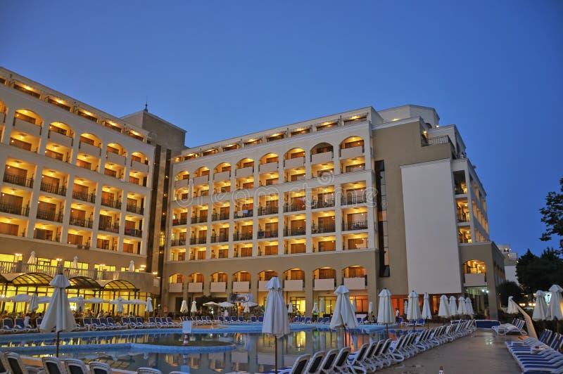 Hotel do louro da égua do solenóide Nessebar e do solenóide Nessebar imagens de stock royalty free