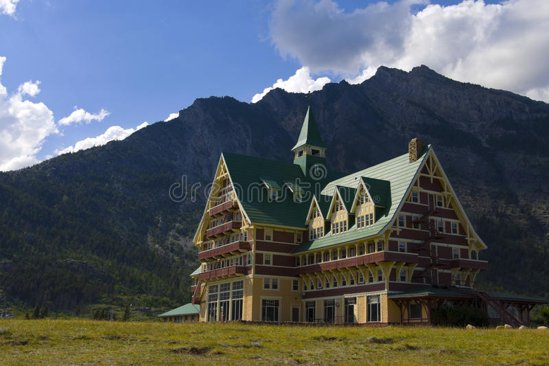 Hotel do Principe de Gales fotografia de stock royalty free