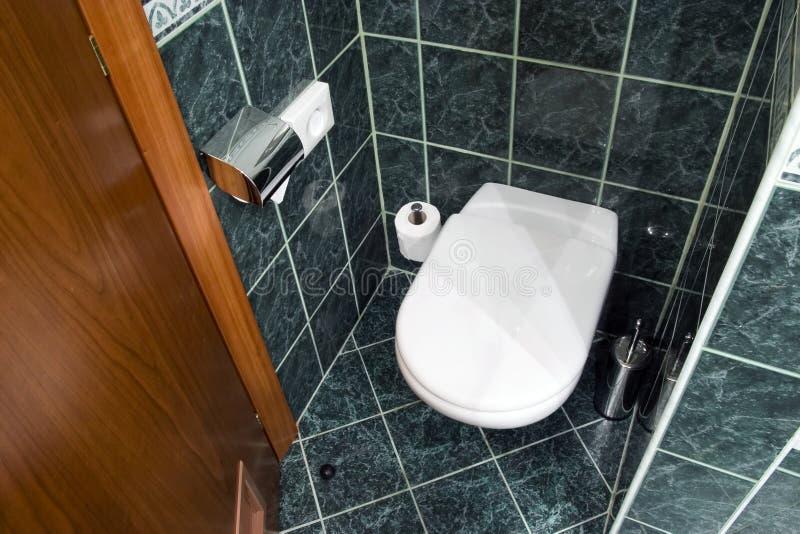 hotel do toalety obrazy stock