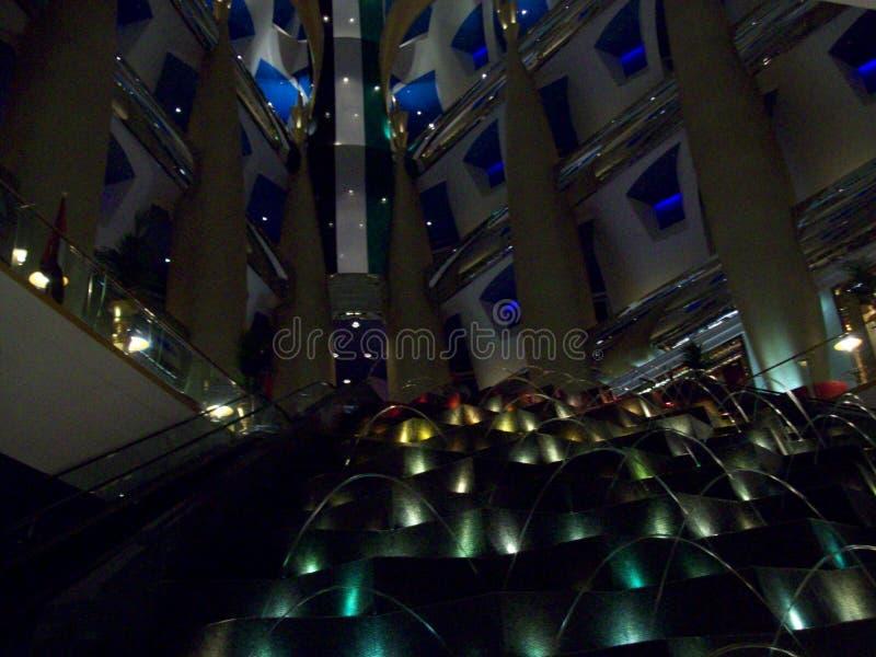Hotel in Doubai Verenigde Arabische emiraten royalty-vrije stock foto