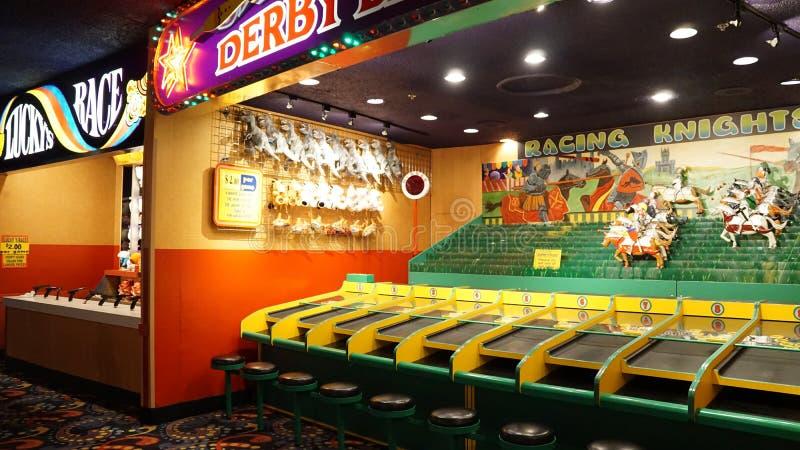 Hotel e casinò del circo del circo a Las Vegas, Nevada immagini stock libere da diritti