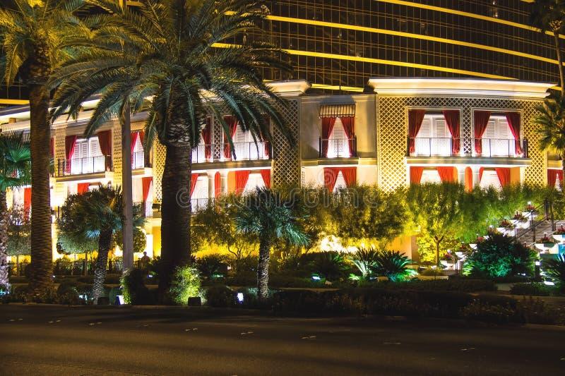 Hotel e casinò di bis a Las Vegas immagini stock