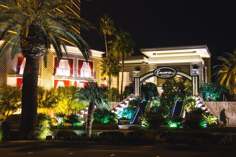Hotel e casinò di bis a Las Vegas fotografia stock