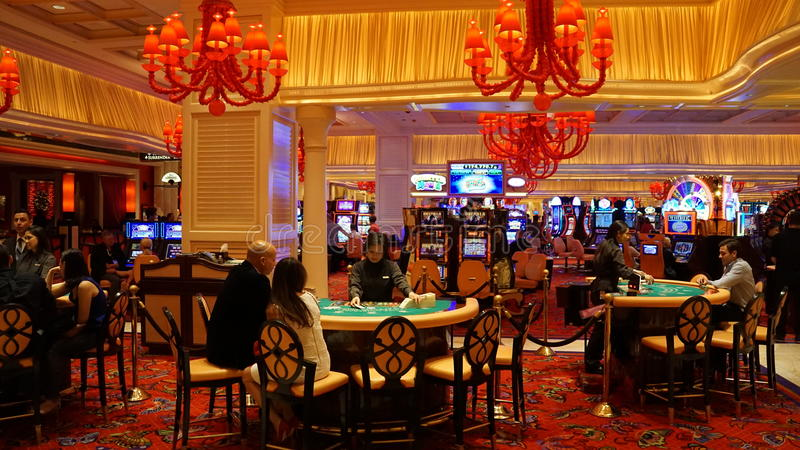 Hotel e casinò di bis a Las Vegas, Nevada immagine stock libera da diritti