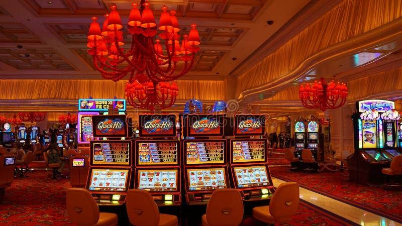 Hotel e casinò di bis a Las Vegas, Nevada immagini stock libere da diritti