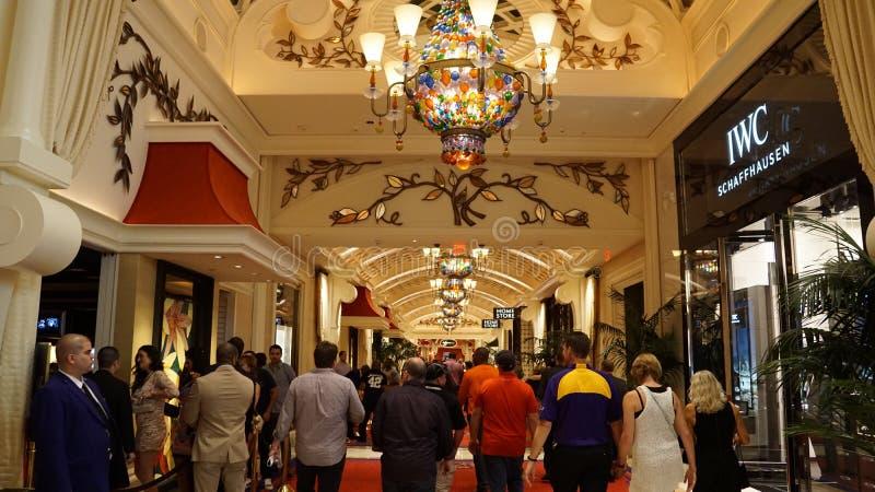 Hotel e casinò di bis a Las Vegas, Nevada fotografia stock libera da diritti