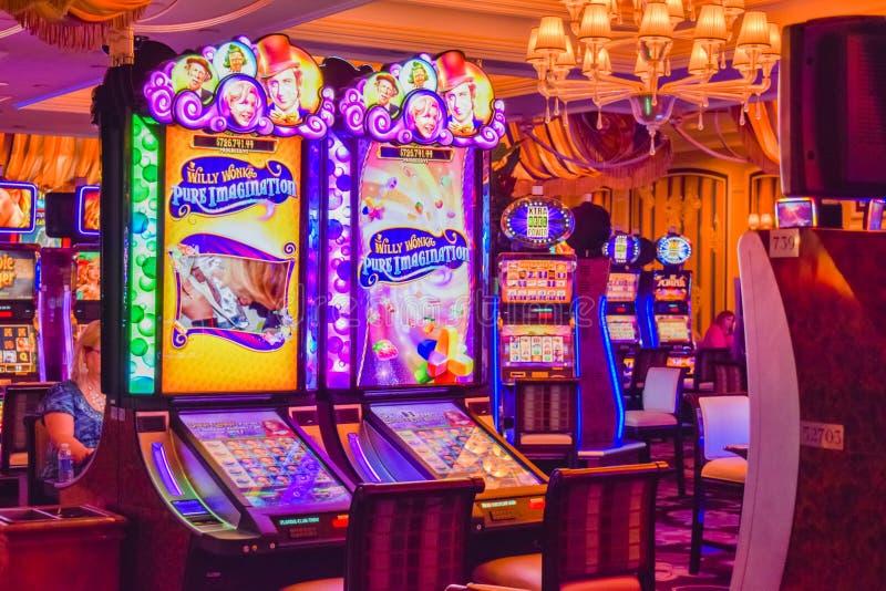 Hotel e casino de Bellagio fotografia de stock