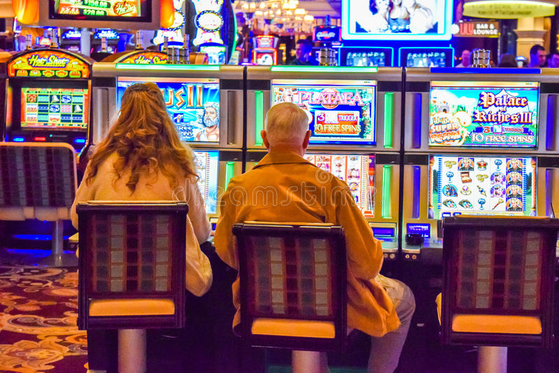 Hotel e casino de Bellagio foto de stock royalty free