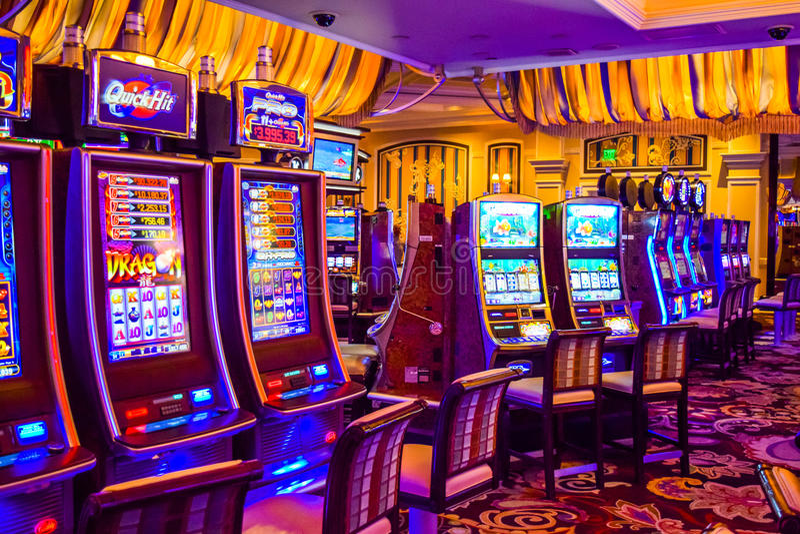 Hotel e casino de Bellagio fotografia de stock royalty free