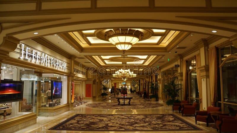 Hotel e casino de Bellagio em Las Vegas, Nevada fotografia de stock royalty free