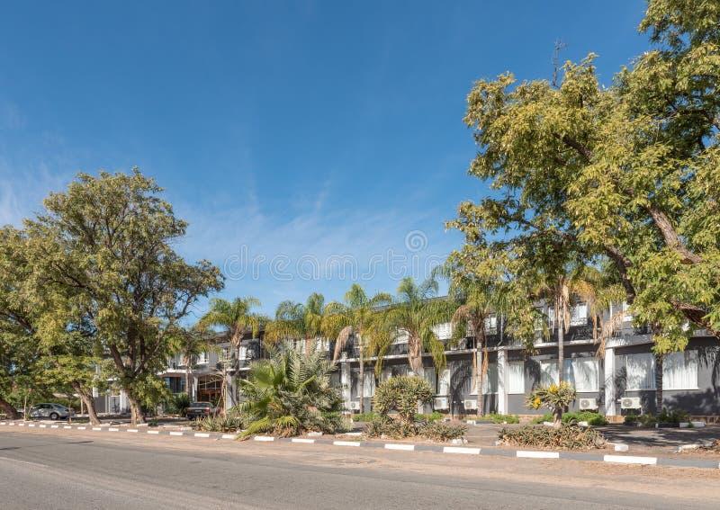 Hotel e centro congressi dell'ingresso di Kalahari in Kakamas immagini stock libere da diritti