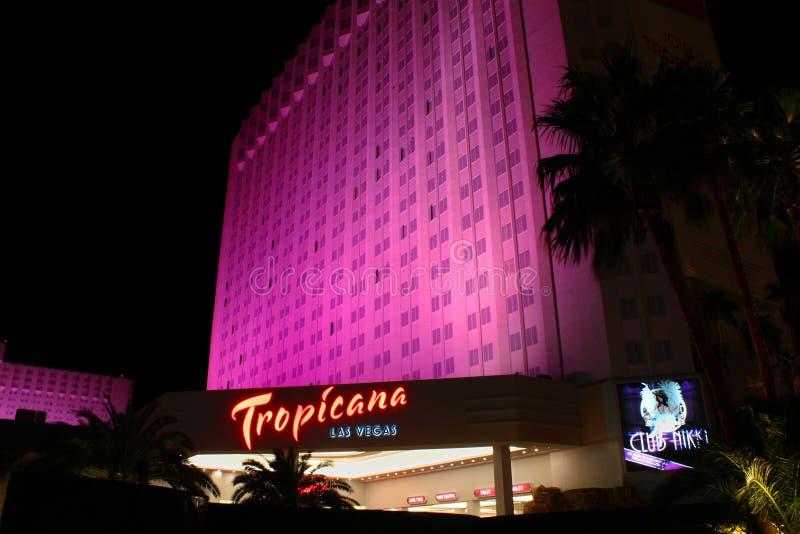 Hotel e recurso de Tropicana Las Vegas imagem de stock royalty free