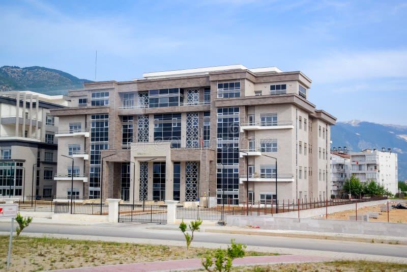 Hotel ed infrastruttura in Turchia, grattacieli in Turchia fotografie stock
