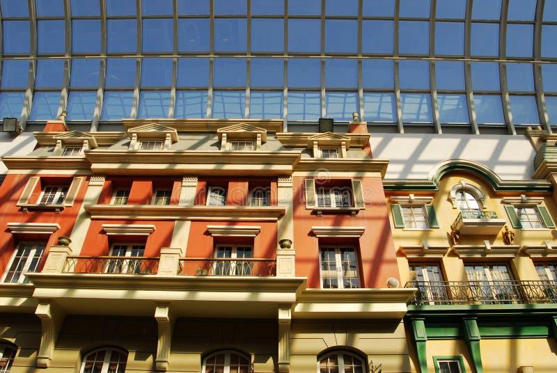 hotel edmonton centrum west fotografia royalty free