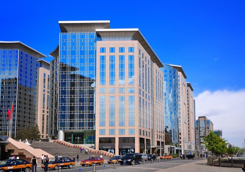 Hotel em Beijing Chang uma avenida fotografia de stock