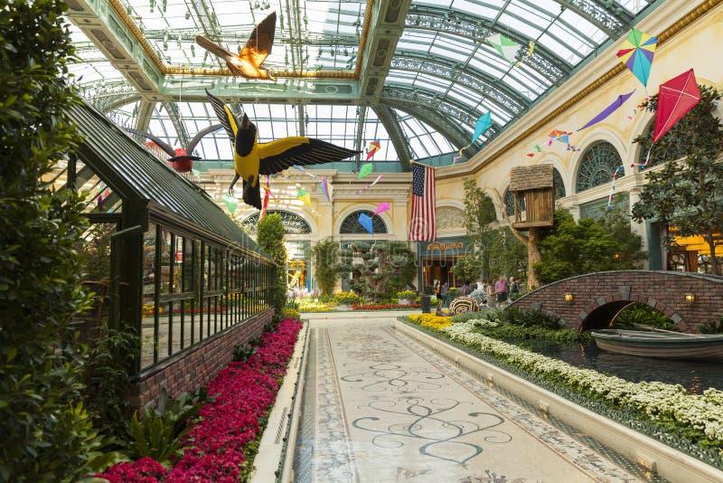 Hotel em Las Vegas, nanovolt de Bellagio o 18 de maio de 2013 imagens de stock royalty free
