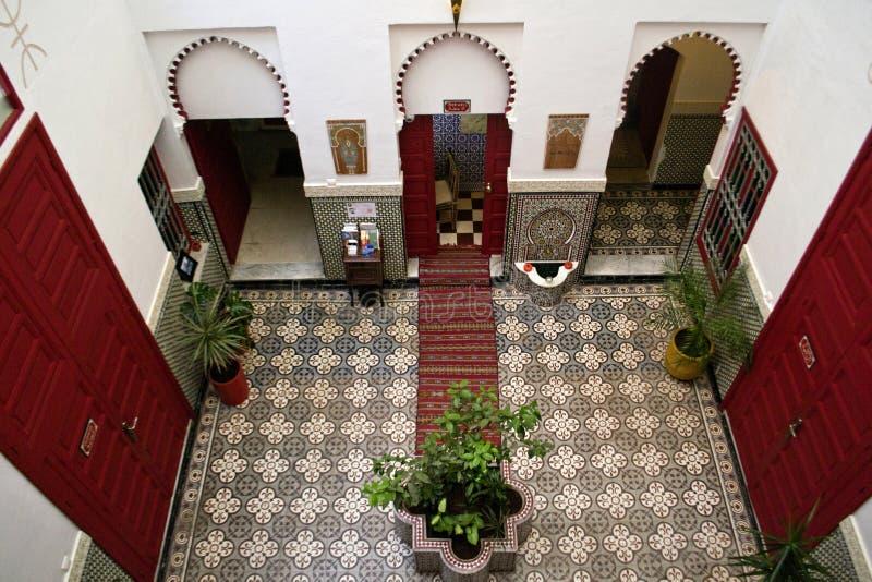 Hotel em Rabat imagens de stock