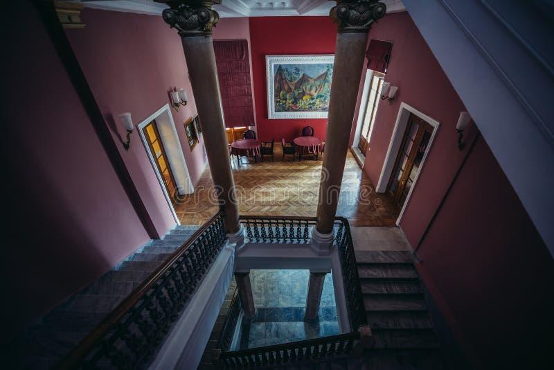 Hotel em Tskaltubo imagem de stock