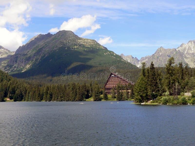 Hotel en el alto Tatras imagen de archivo