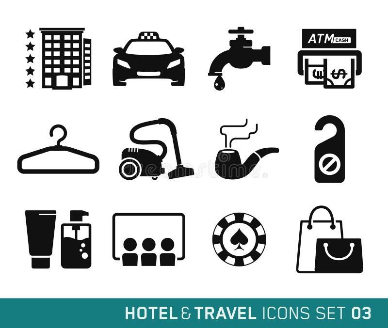 Hotel en Reis vector illustratie