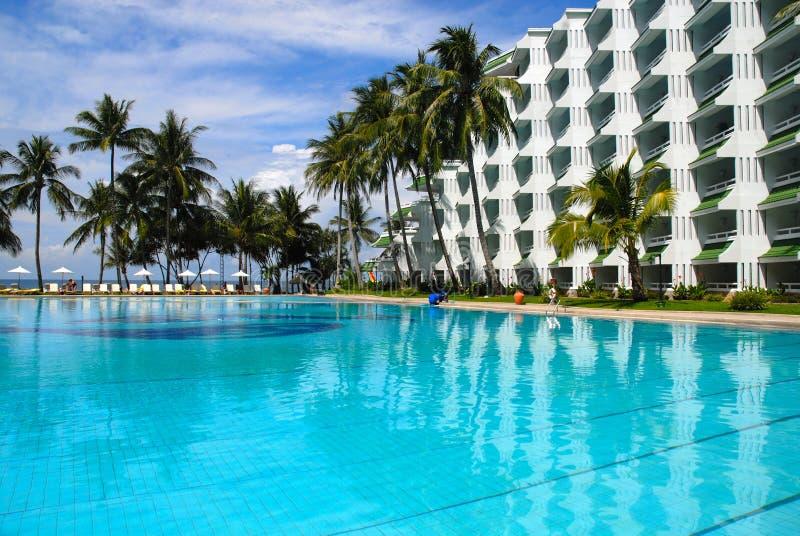 Hotel en Tailandia fotografía de archivo