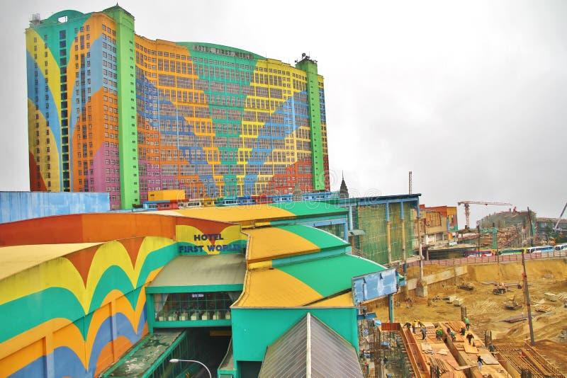 Hotel-erste Welt@ Genting-Hochländer lizenzfreies stockbild