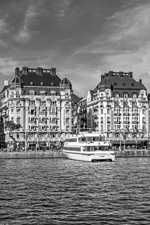 Hotel esplanada i dyplomata fotografia stock
