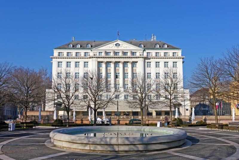 Hotel Esplanade Zagreb Editorial Stock Photo Image Of Park 42371908