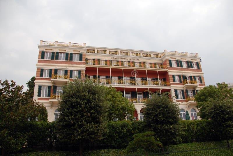 Hotel grande imperial foto de stock