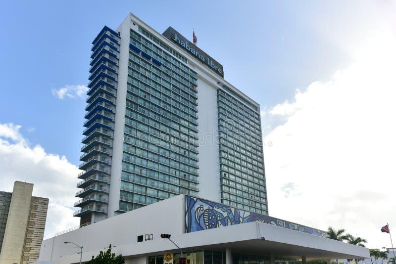 Hotel Habana Libre - Havana, Kuba lizenzfreies stockfoto