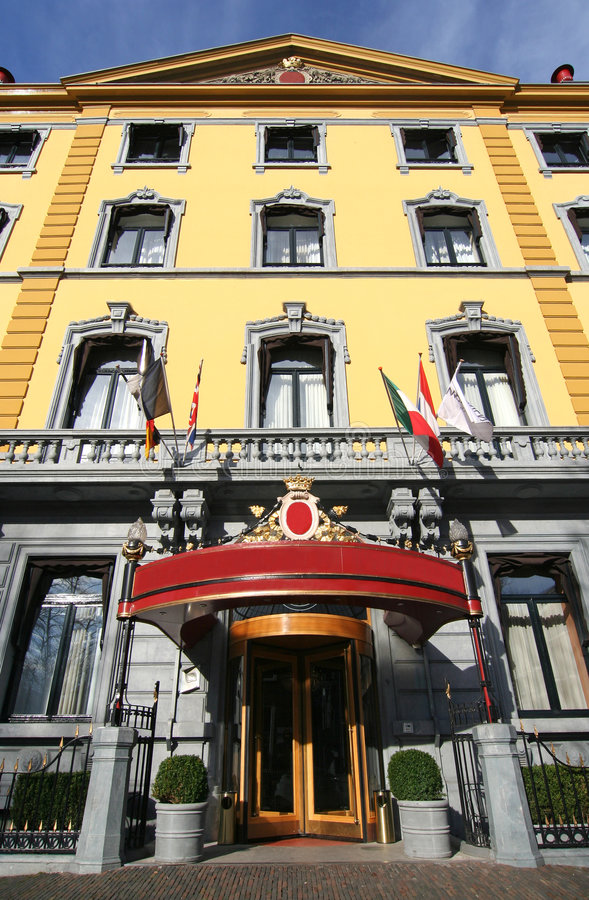 hotel hague zdjęcia stock