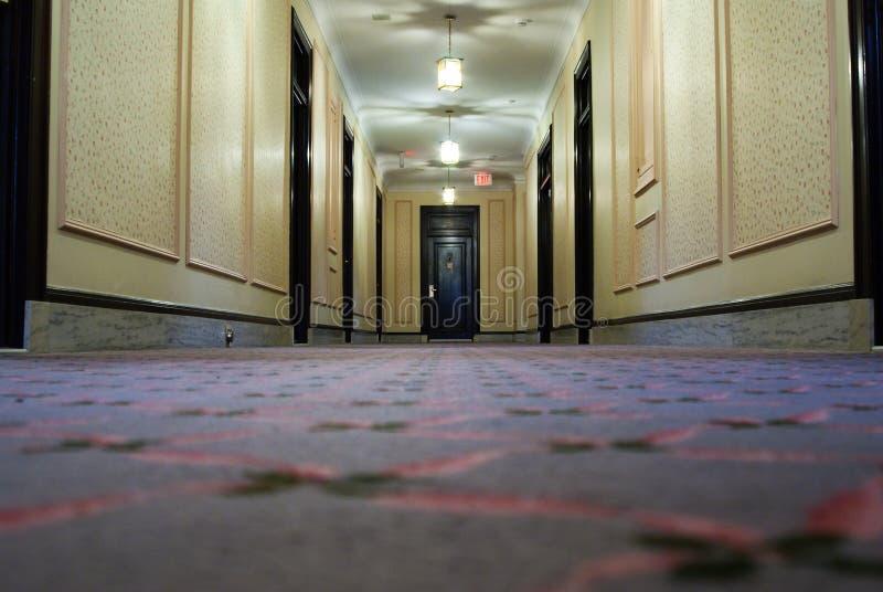 Hotel Hallway royalty free stock photography