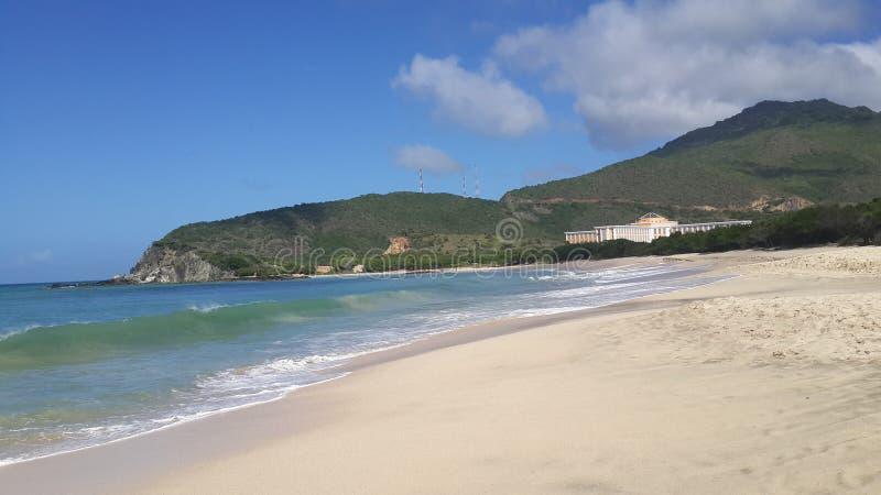 Hotel Hesperia Margarita de Playa Puert Viejo imagenes de archivo