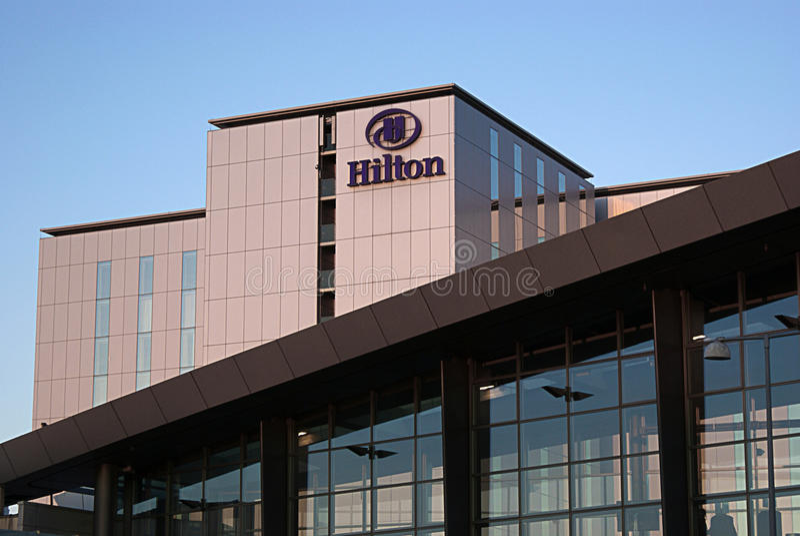 Hotel Hilton, Copenhaga fotografia de stock