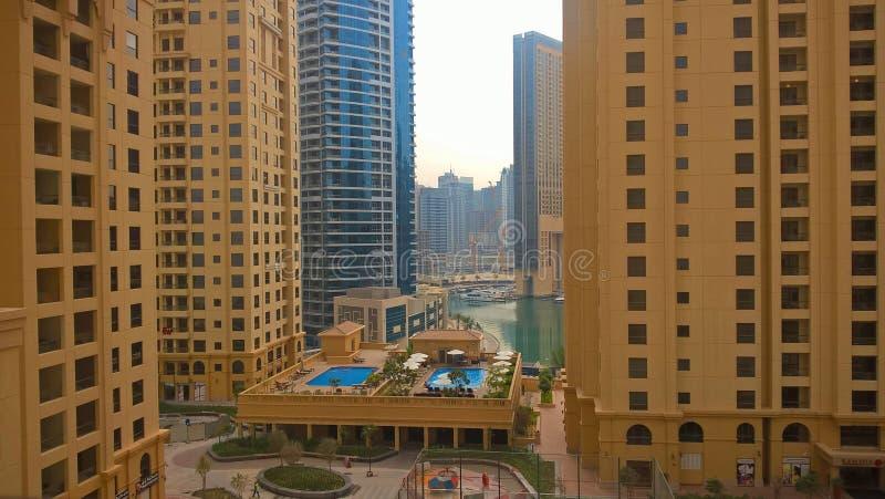 Hotel Hilton in Dubai royalty free stock photo