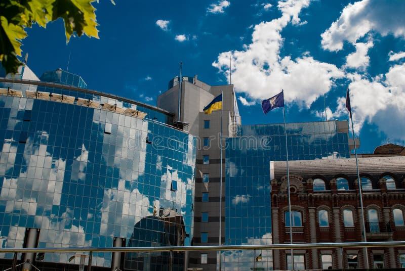Hotel Hyatt Kiev stock afbeeldingen