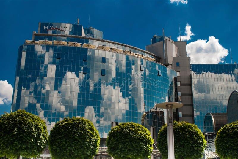 Hotel Hyatt Kiev foto de archivo