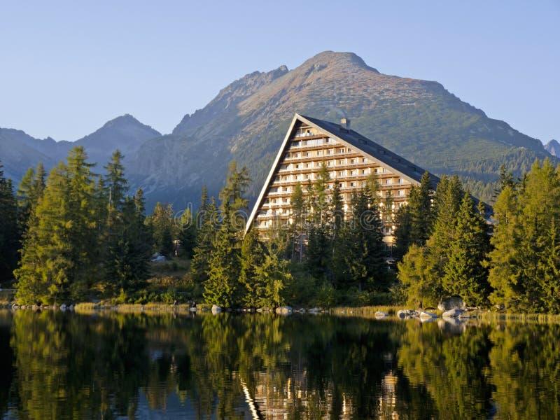 Hotel im hohen Tatras lizenzfreie stockfotografie