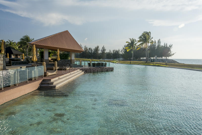 Hotel imperial, Brunei Darussalam imagem de stock royalty free