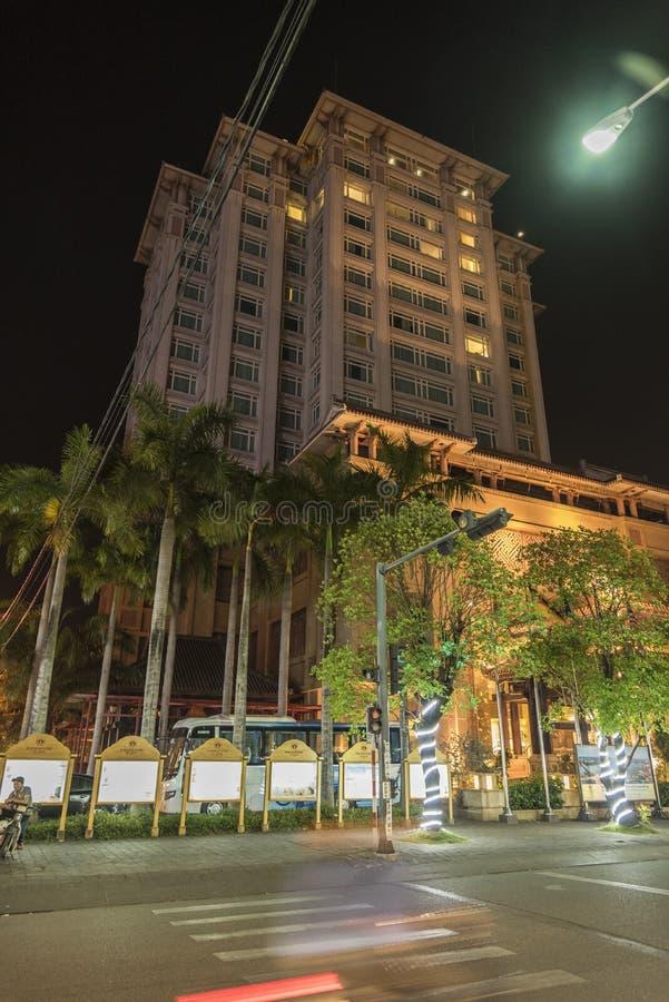 Hotel imperial en tonalidad foto de archivo libre de regalías