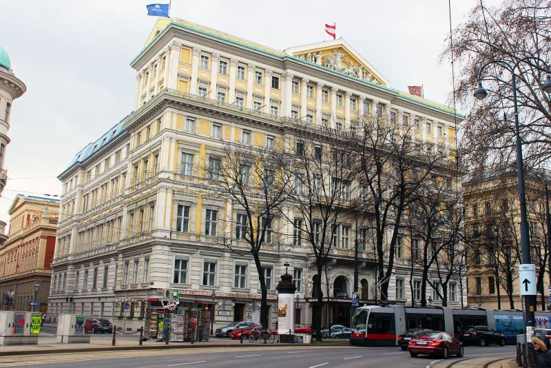 Hotel imperial (Viena/Austria) fotos de archivo