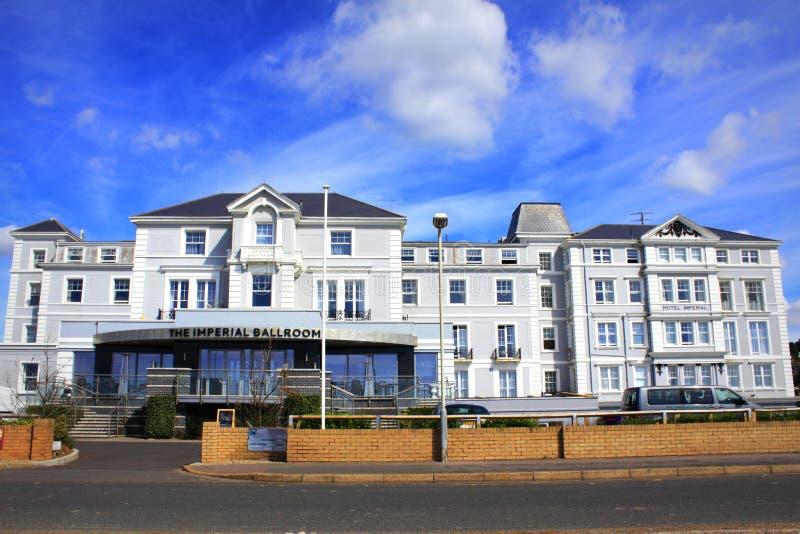 Hotel imperiale Hythe Inghilterra fotografia stock