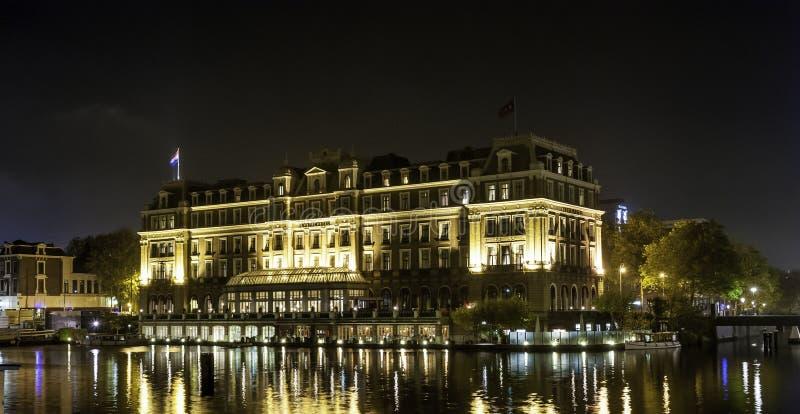Hotel intercontinental Amsterdão de Amstel fotos de stock